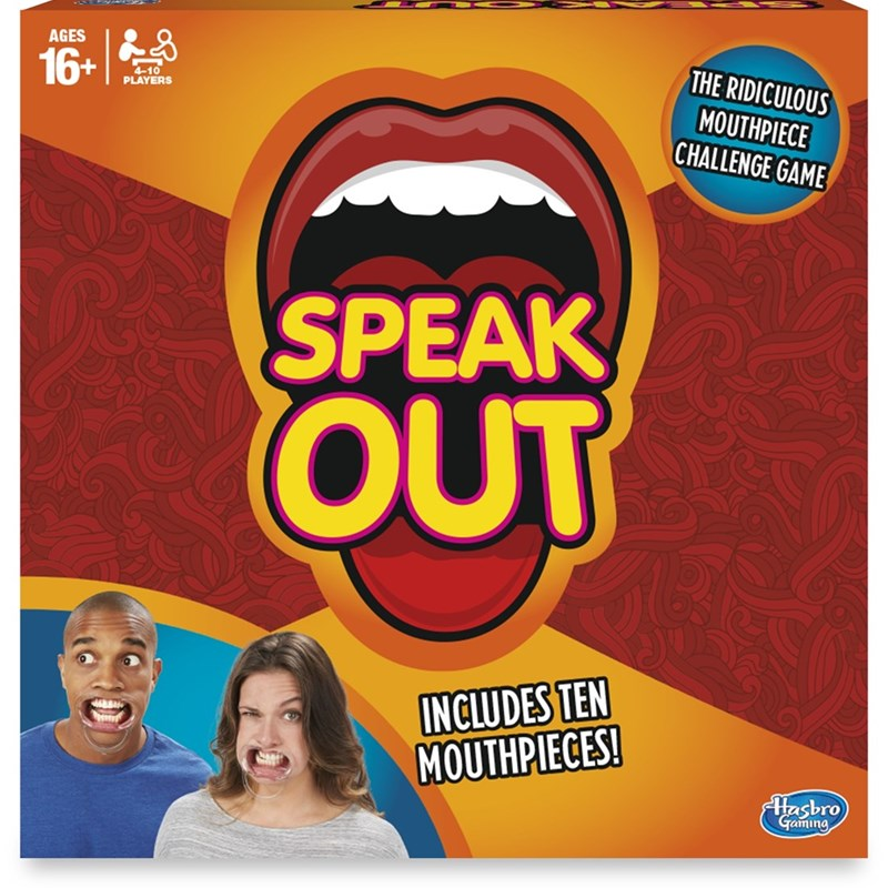 Hasbro Familjespel Speak Out Refresh SE/FI 16+ years