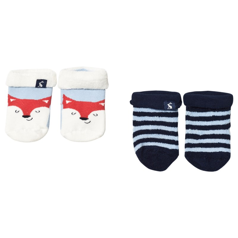 JoulesTerry Sockor Sky Blue Fox2-3 years