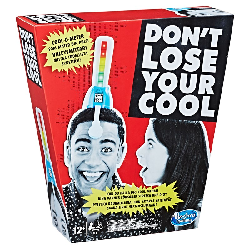 Hasbro Don't Lose Your Cool 12+ år