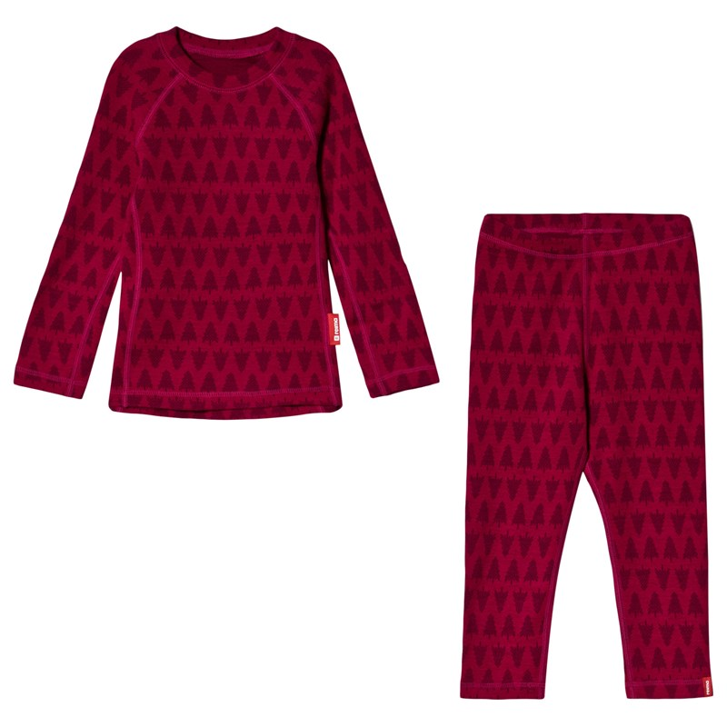 Reima Thermal Set Taival Cranberry Pink 80 cm (9-12 mån)