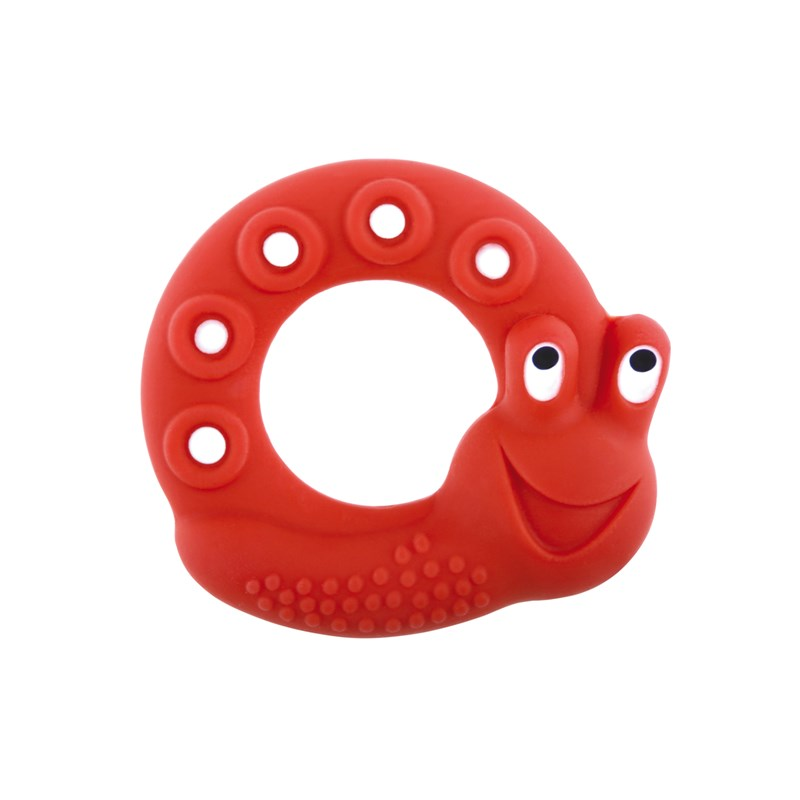 MAM Bitring Lucy The Snail Red One Size