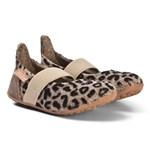 Bisgaard Home Shoe - Wool Ballet Brown-Leopard