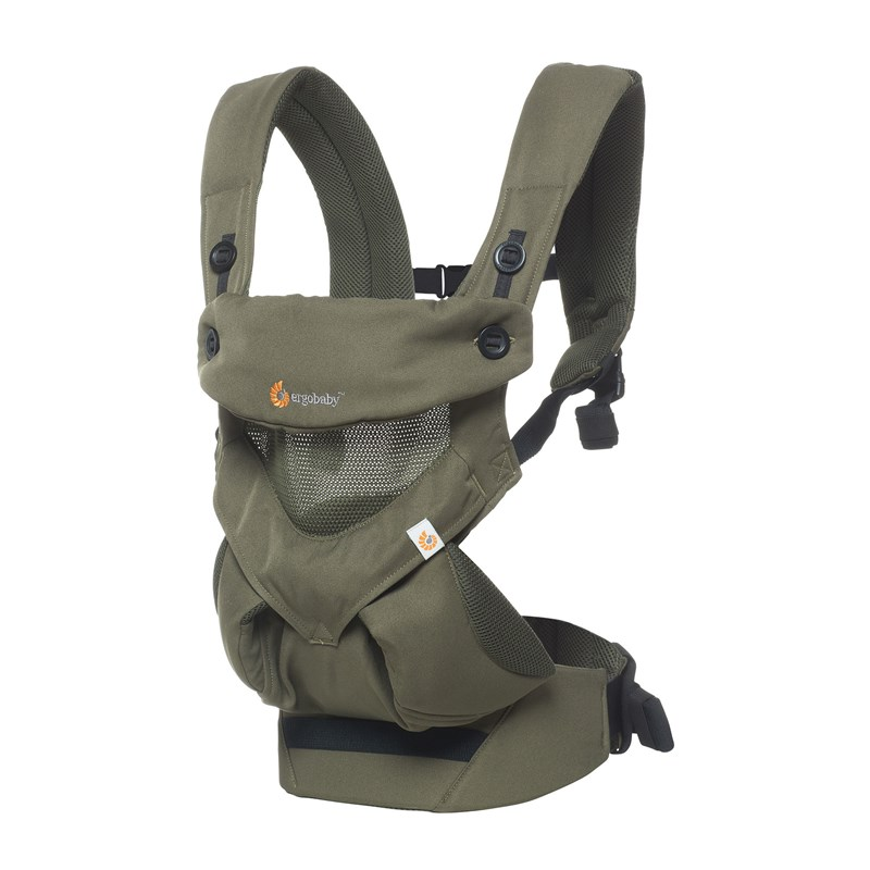 Ergobaby 360 Cool Air Bärsele Khaki Green One Size