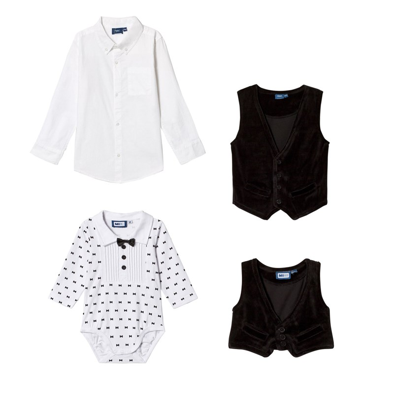 Max Collection Paket Max Collection Skorts med Väst + Smoking Baby Body Bundle