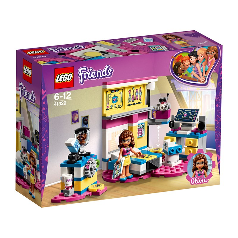 LEGO Friends 41329 LEGO® Friends Olivia´s Deluxe Bedroom One Size