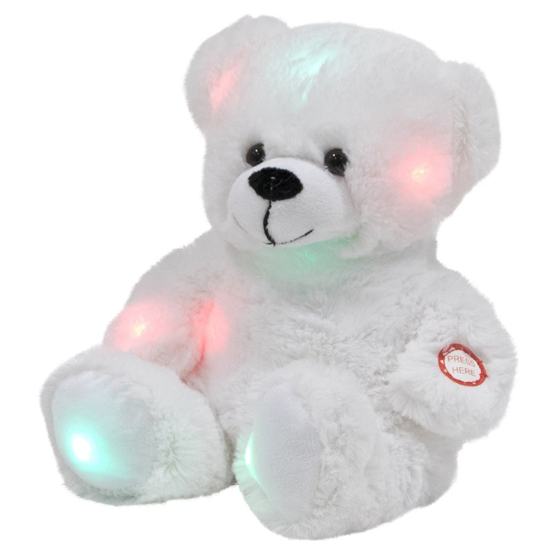Snuggle Buddies Brilliant Light-up Bamse 3 - 10 years