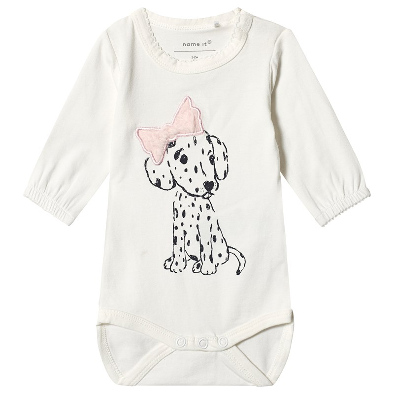 Name It Netine Baby Body Snow White 62 cm (2-4 mån)