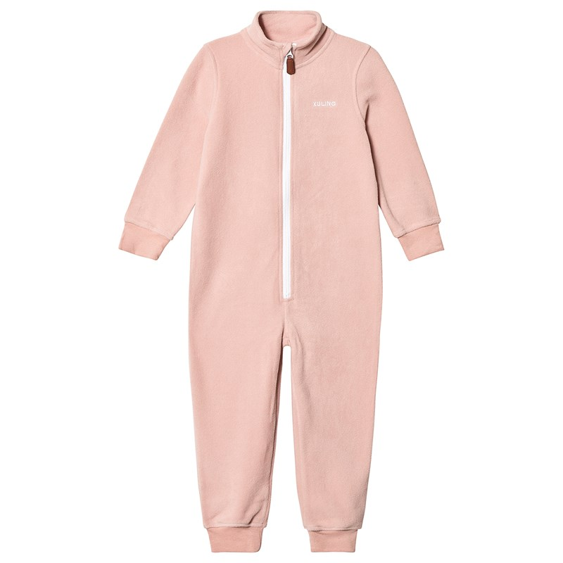 Kuling Northpole Kids Fleeceoverall Woody Rose 122 cm