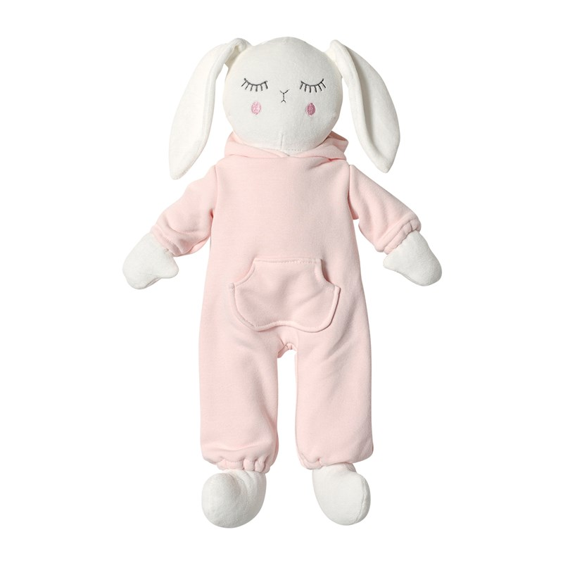 STOY Baby Kanin Rosa 45 cm One Size