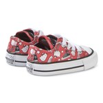 Converse Hello Kitty Print Chuck Taylor Infants Trainers Röd