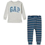 Gap Branded Pyjamas Blå/Vit