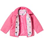 Joules Classic Quiltad Jacka Rosa