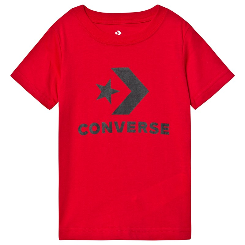 Converse Red Logo Graphic T-Shirt 3-4 years