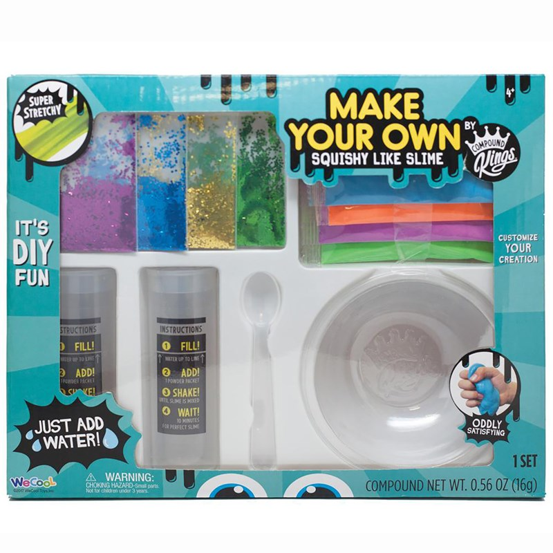 Compound King Make Your Own Slime 3+ years