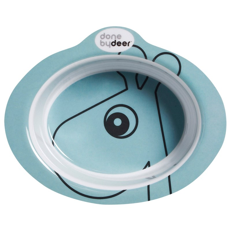 Done by Deer Anti-slip Bowl Contour, Blue One Size