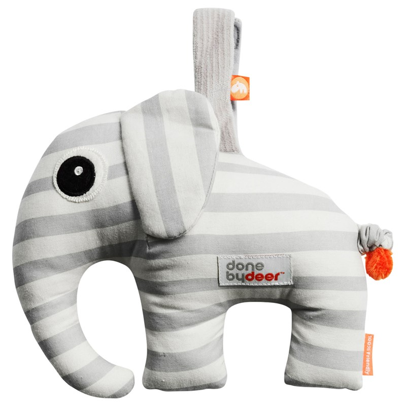 Done by Deer Musical Toy Elphee Grey One Size