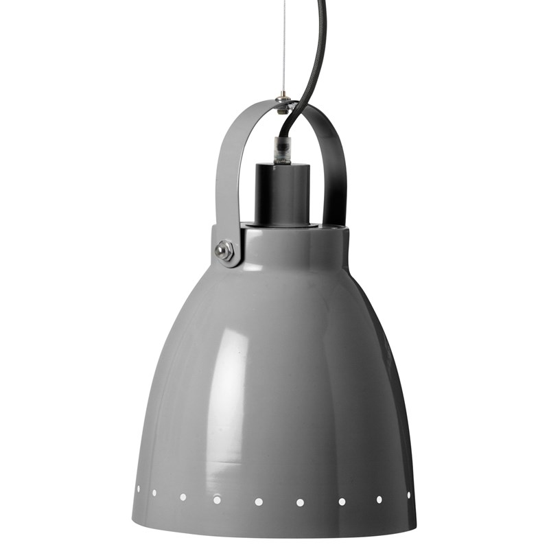 Done by Deer Metal Lamp Grey One Size