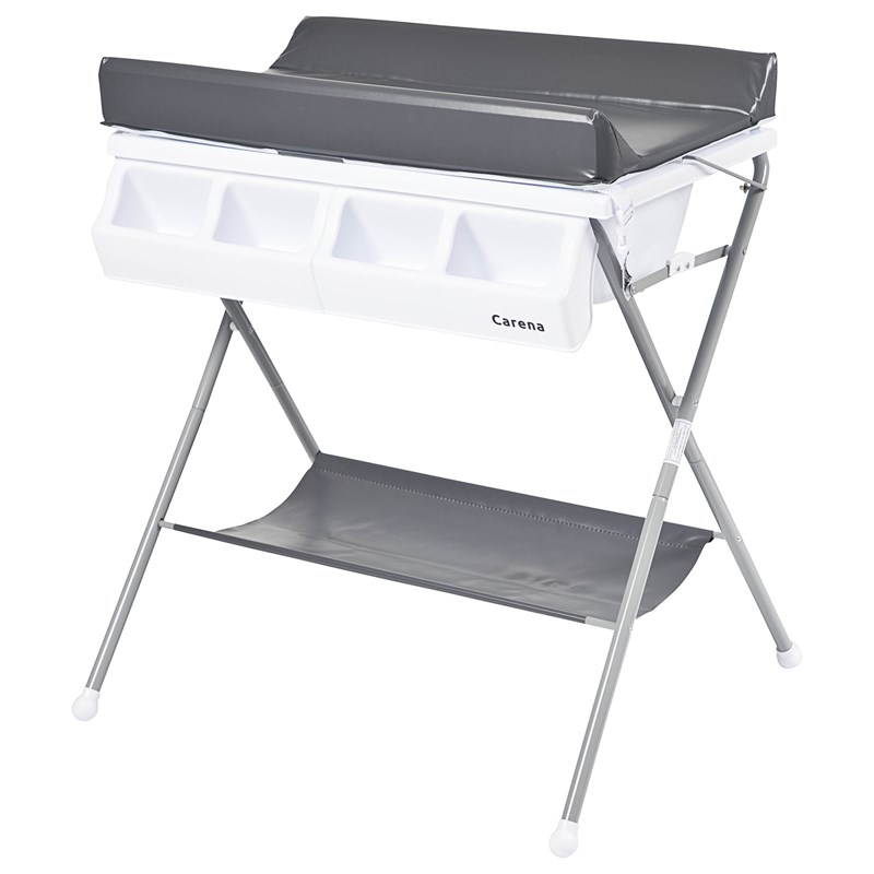 Carena Vindö Changing Table with Changing Pad and Bath oil White bed One Size