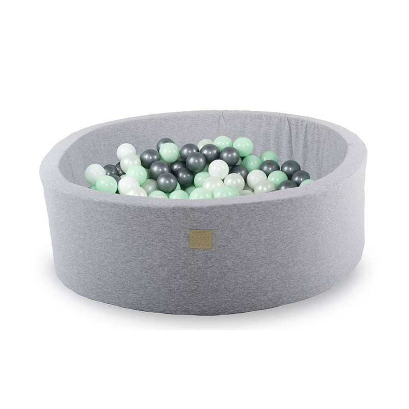 Meow Light Grey Ball Pit with