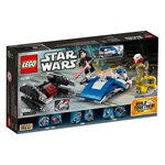 LEGO Star Wars 75196 LEGO® Star Wars™ A-Wing™ vs. TIE Silencer™ Microfighters