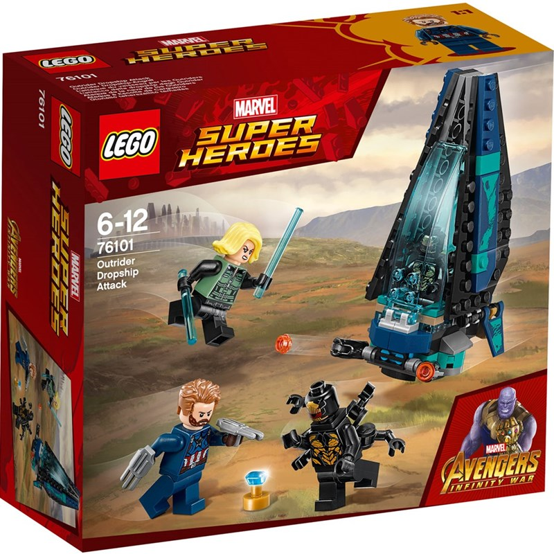 LEGO Super Heros 76101 LEGO® Marvel Super Heroes Outrider Dropship-attack One Size