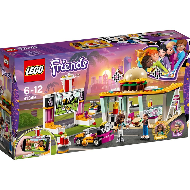LEGO Friends 41349 LEGO® Friends Drifting Diner One Size