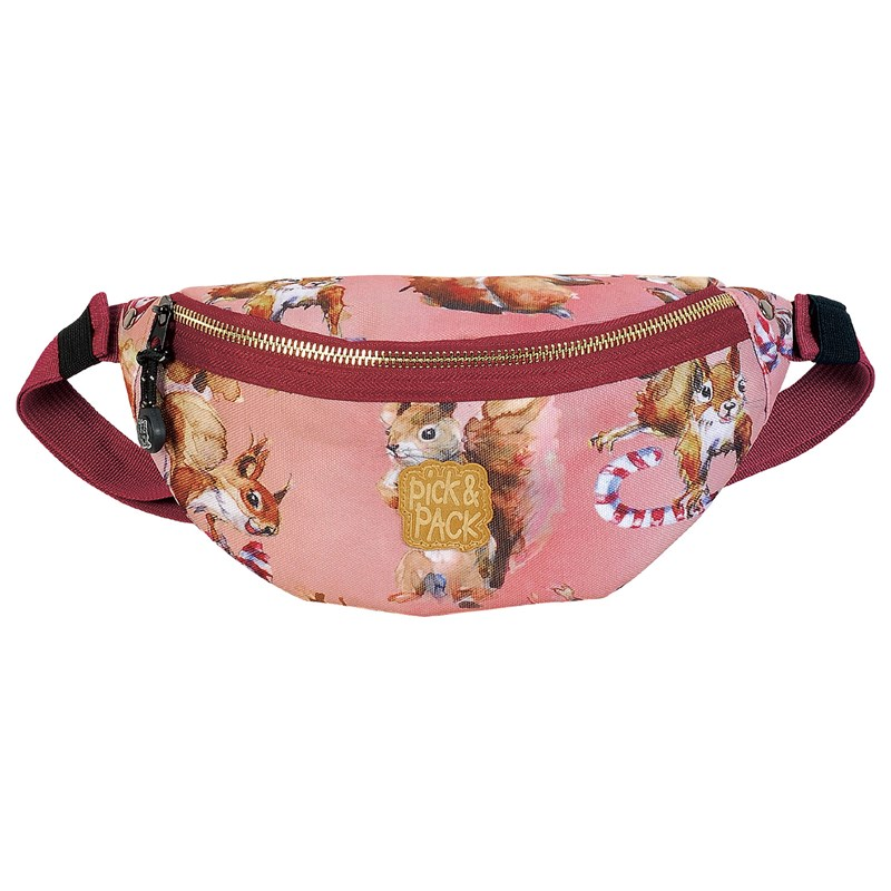 Pick & Pack Waistbag Squirell Pink One Size