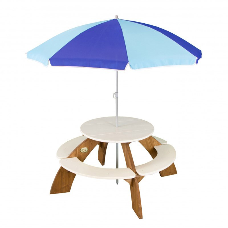 Axi Orion Picnic Table including parasol 3+ years