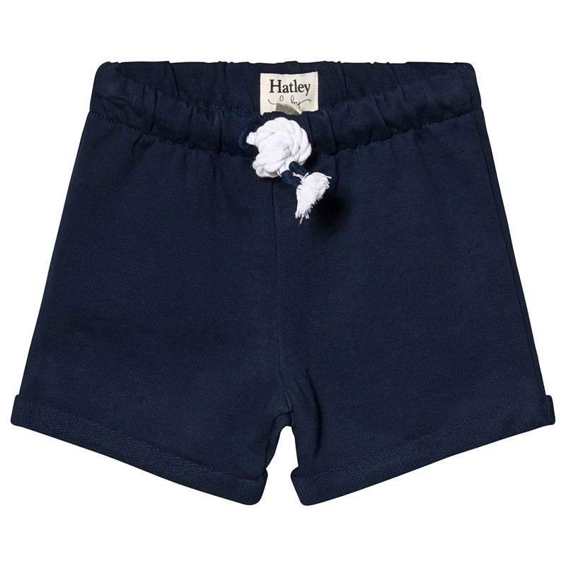 Navy French Terry Baby Shorts9-12 months