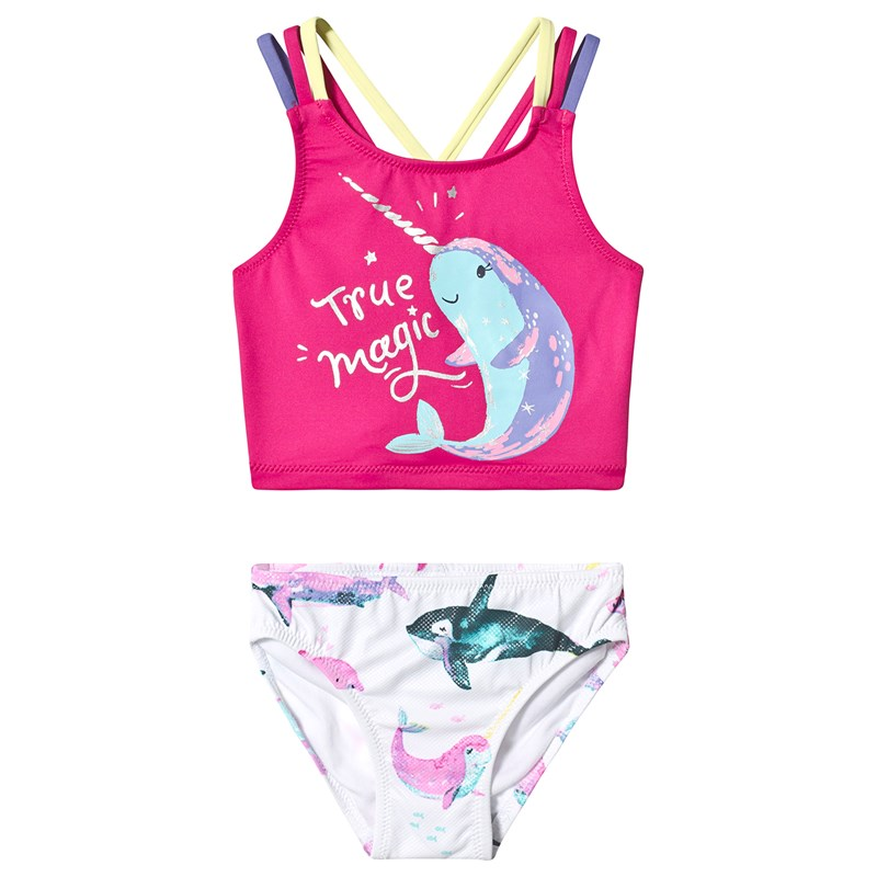 Hatley Watercolour Sea Friends Sporty Bikini Set 2 years