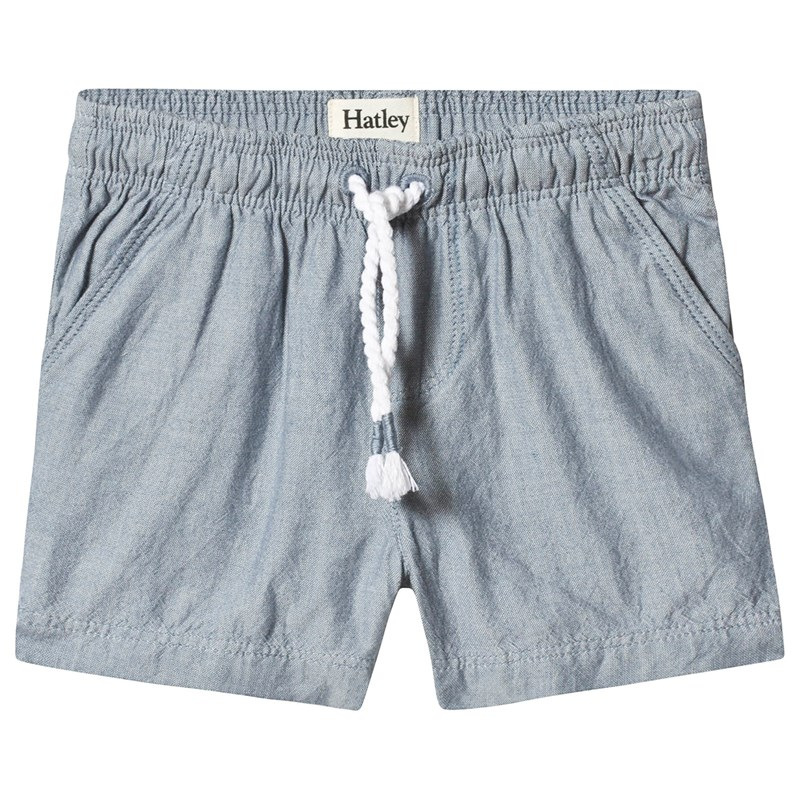 Hatley Chambray Baby Shorts 9-12 months