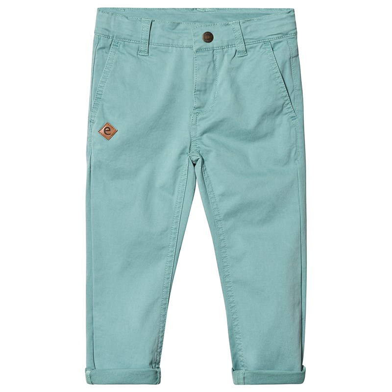 Sten Chinos Pant Dusty Turquoise116 cm (5-6 år)