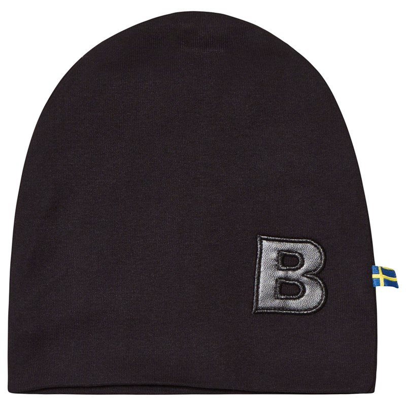 The BRAND HAT W B BLACK