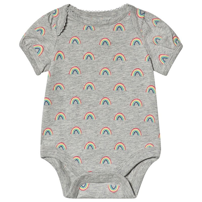 Gap Rainbow Baby Body Grå 3-6 mån