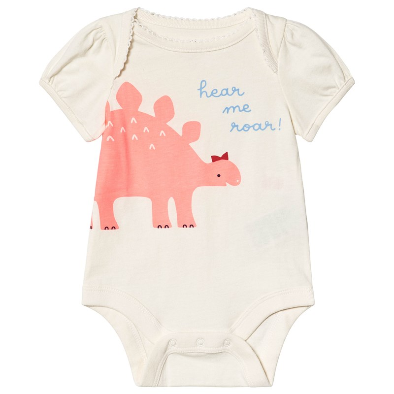 Gap Dino Baby Body Vit 12-18 mån