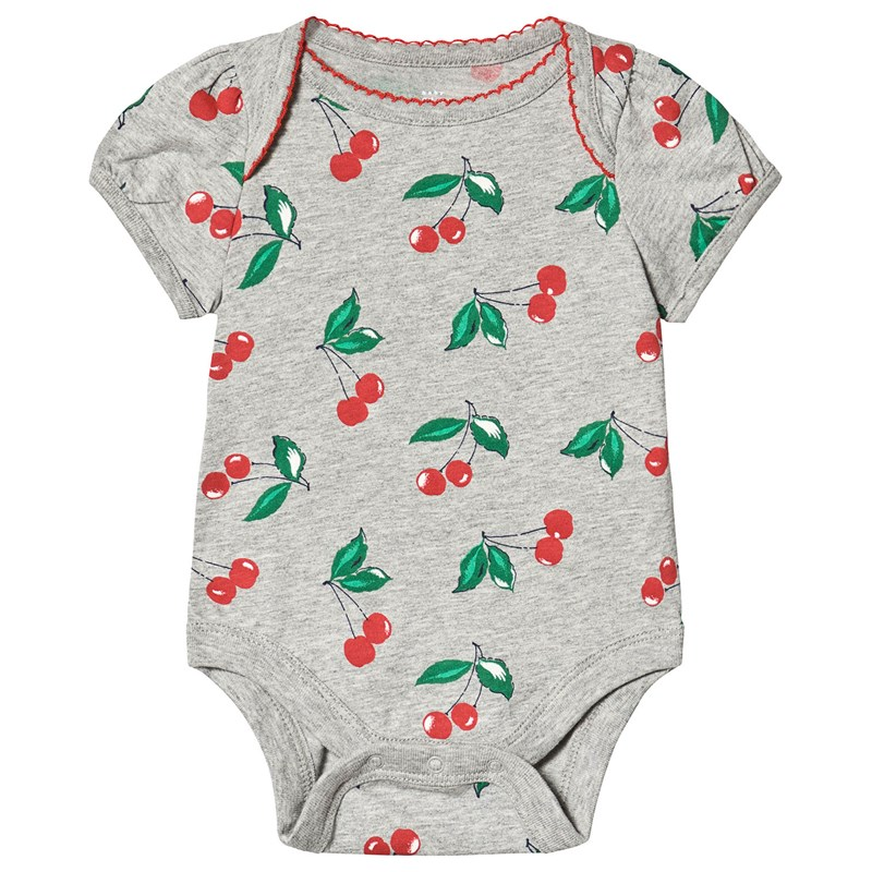 Gap Cherry Baby Body Grå 6-12 mån