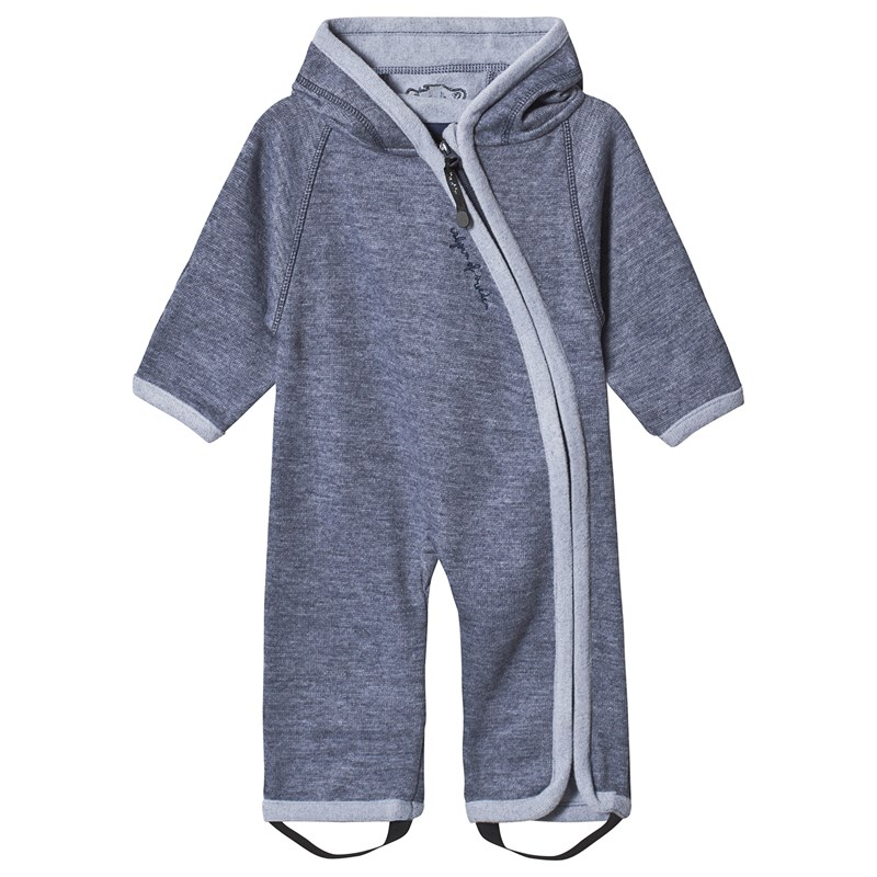 Wooly Baby Jumppsuit Denim80/86 cm