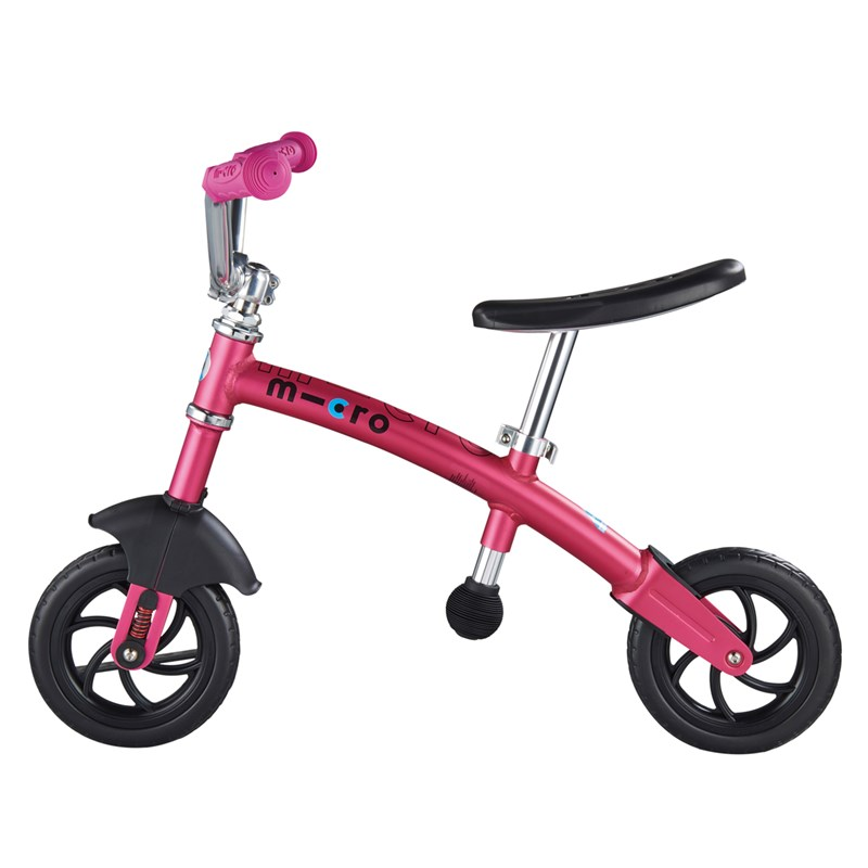 Micro Springcykel G-Bike Chopper Deluxe Rosa 24 months – 5 years