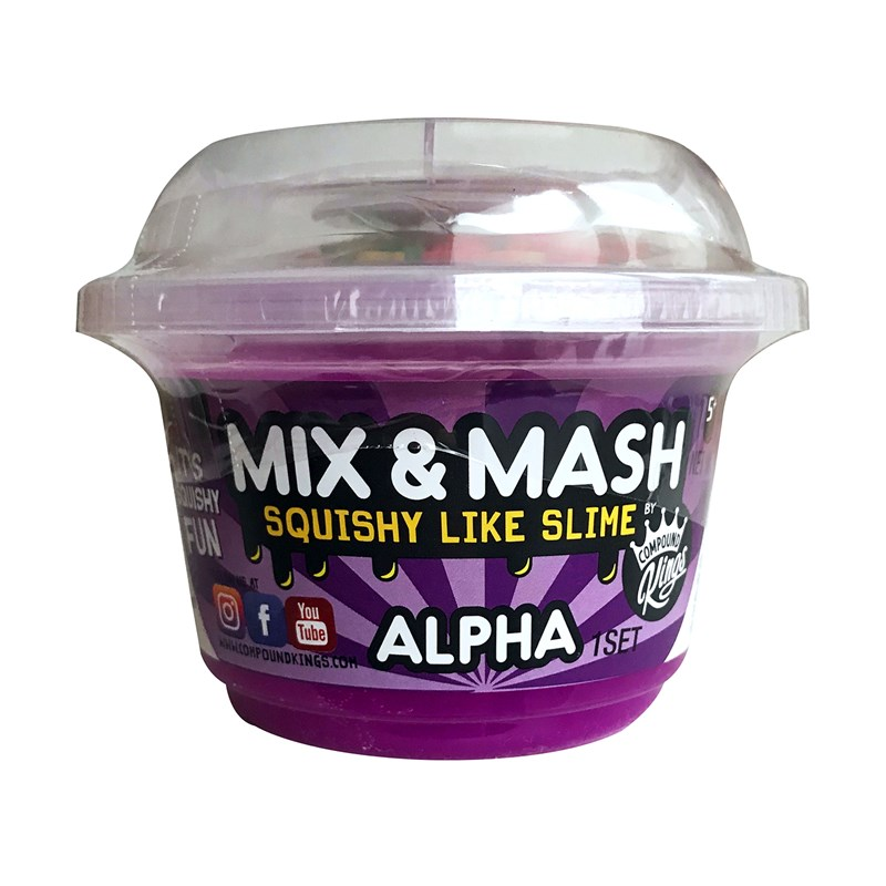 Compound King Yo-Cup Mix and Mash Slime Alpha 3+ years