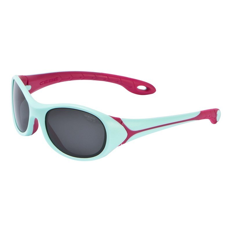 Cebe Mint & Pink Flipper Flex Frame Sunglasses One Size (3-5 years)