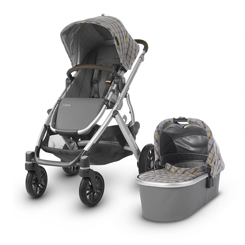 UPPAbaby Vista Barnvagn Spencer Grey/Yellow One Size