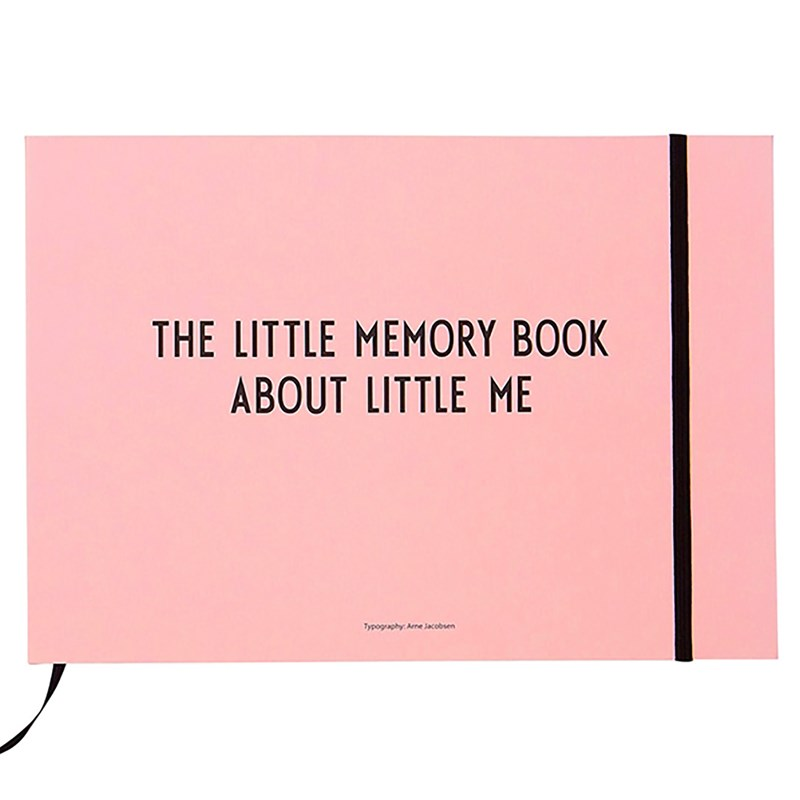 Design Letters The Little Memory Book Ljus Rosa One Size