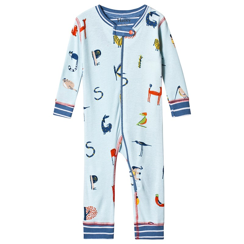 Hatley Alphabet Animals Organic Cotton Coverall 6-9 months