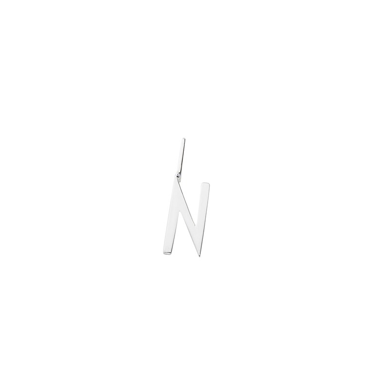 Design Letters 10 mm 925 Sterling Silver - N One Size