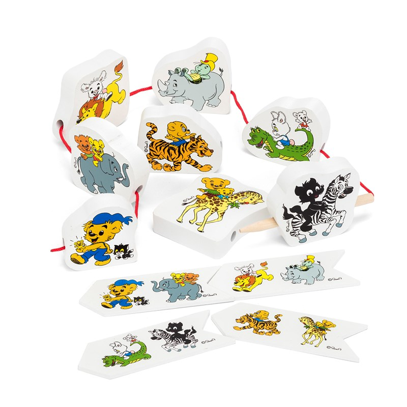 Bamse STRING PUZZLE ANIMALS 24+ months