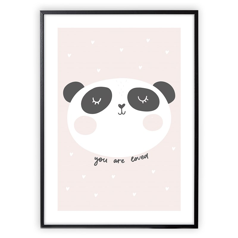 XO Posters You Are Loved Poster 50x70 cm