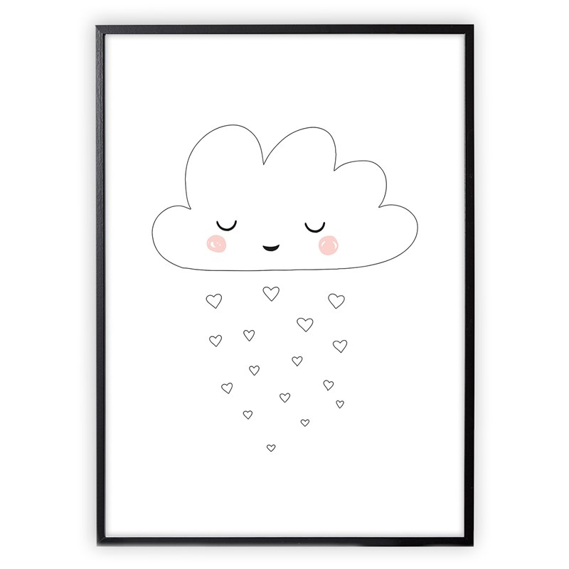 XO Posters Moln Poster 30×40 cm