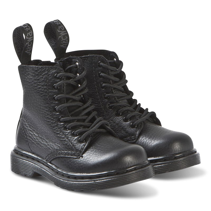 Dr. Martens Black 1460 Pascal Mono Soft Leather Boots