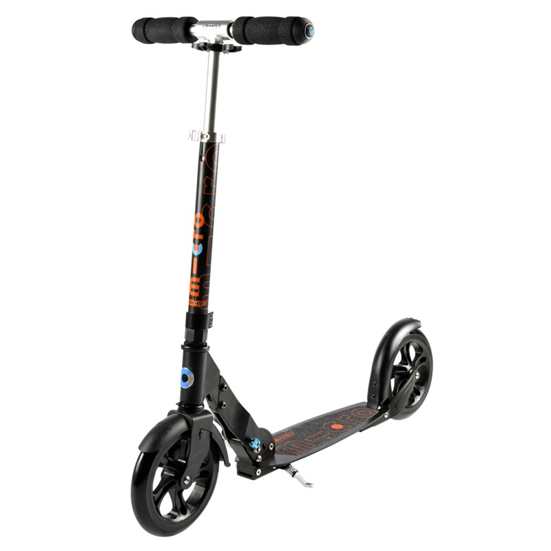 Micro Sparkcykel Classic Big Wheel Svart 9+ years