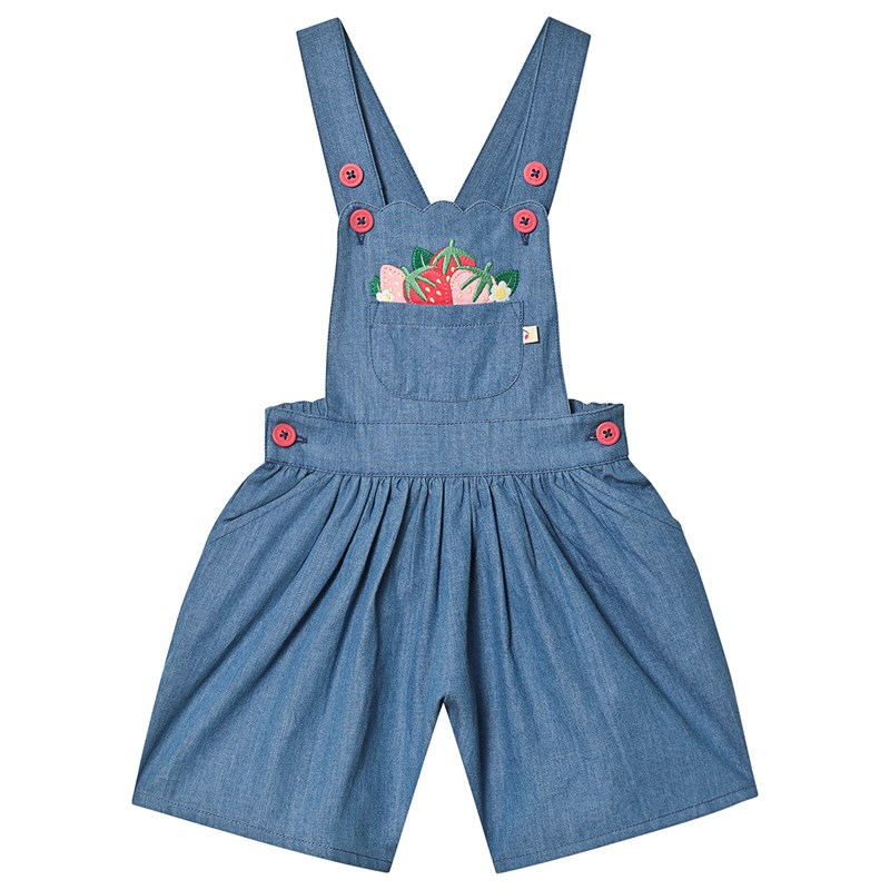 Frugi Chambray Culotte Romper 9-10 years